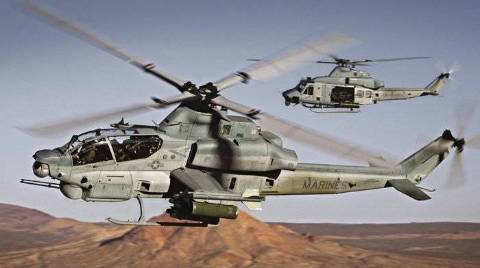 Румыния намерена самостоятельно собирать вертолеты AH-1Z Viper