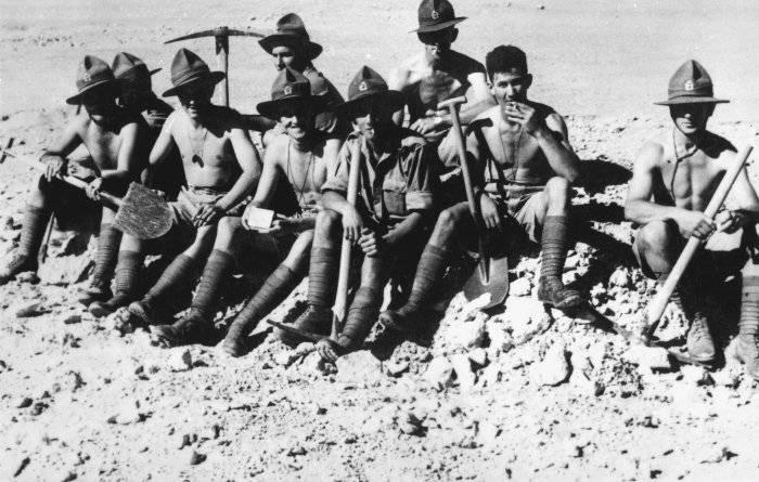 Yeni Zelandalılar bilinmeyen müttefikler. Yunanistan'dan Sahara'ya