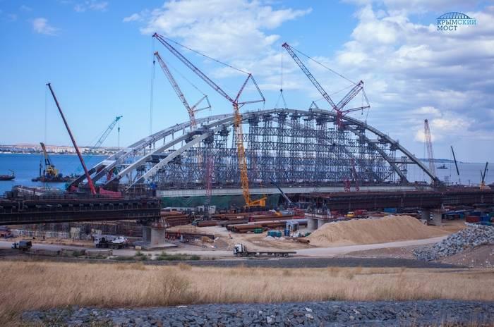 Киев обвинил Россию в морской изоляции из-за строительства Керченского моста