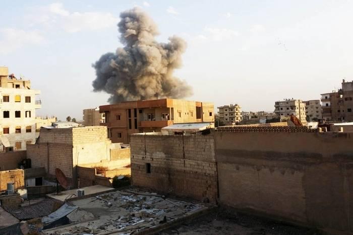 La coalizione ha annunciato la liberazione dai militanti IG * più della metà di Raqqa