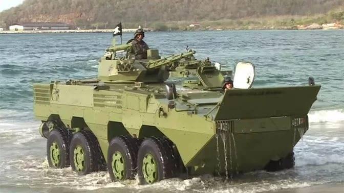 """I marines della Federazione Russa hanno vinto il concorso """"sbarco marino"""""""