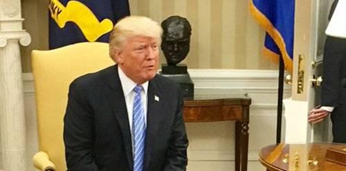 Trump şeffaf bir şekilde muhabirlere Kuzey Kore ile savaşa hazır olduğunu ima etti