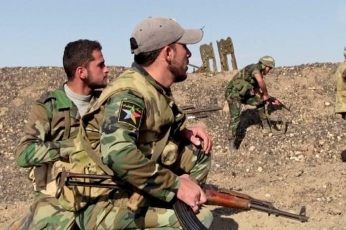 Unità dell'esercito siriano sbarcarono nella parte posteriore dell'IG * a Raqqa