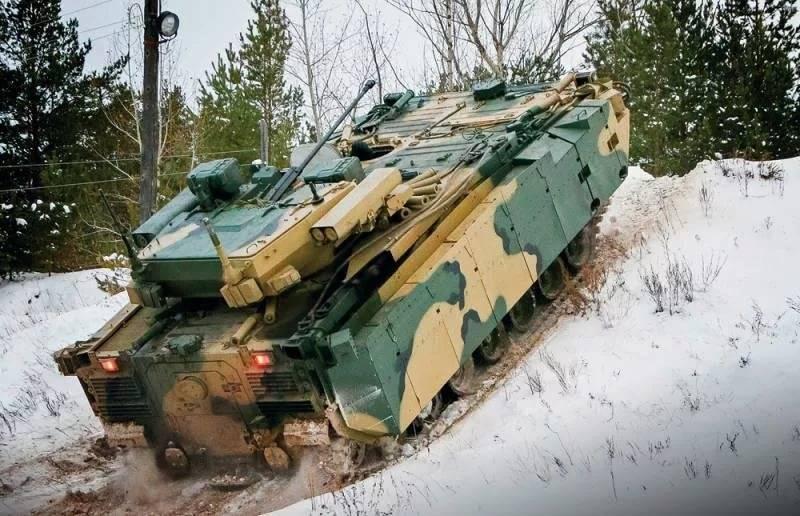 Бронетехника на базе платформы 'Курганец-25' может быть принята на вооружение в 2017 году