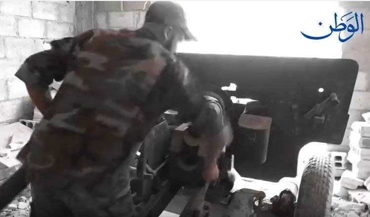 Estalinista ZIS-2 na Síria
