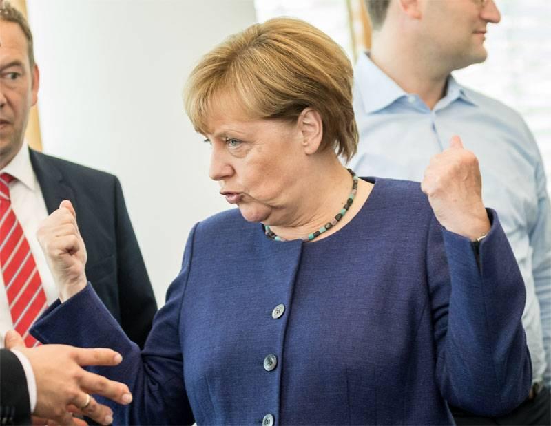 Por que Merkel foge dos jornalistas russos?