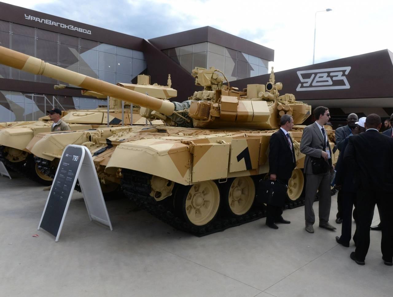 Посол Российской Федерации: РФ начнет поставки танков Т-90 Ираку