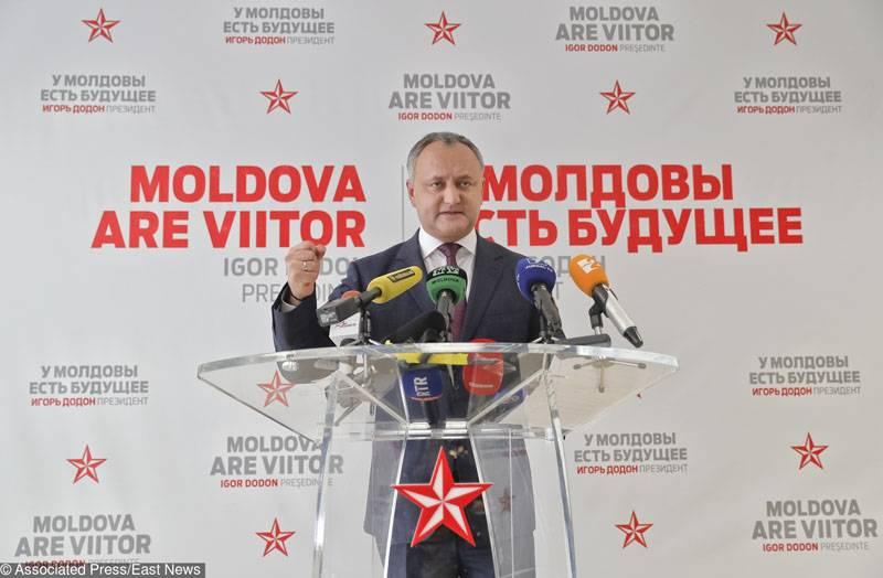 Додон: Слова о готовности ввести визовый режим с РФ - провокация