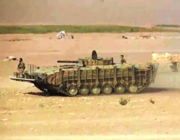 Сирийский вариант модернизации БМП-1