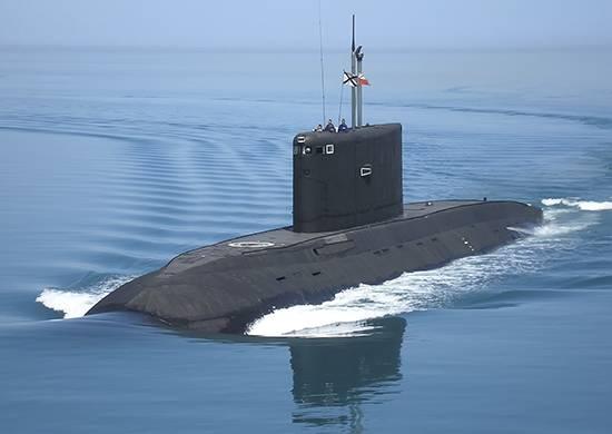 """Marinha da Rússia até o final do 2020, receberá dois """"Varshavyanka"""""""