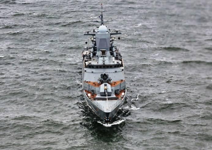 Морские пехотинцы Балтийского флота проходят учения пообороне