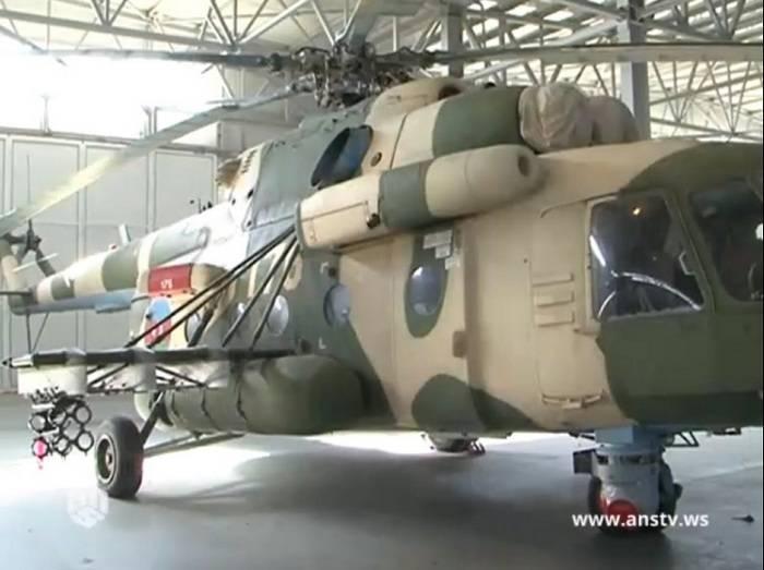 Азербайджанские Ми-17 получили израильские ПТРК LAHAT