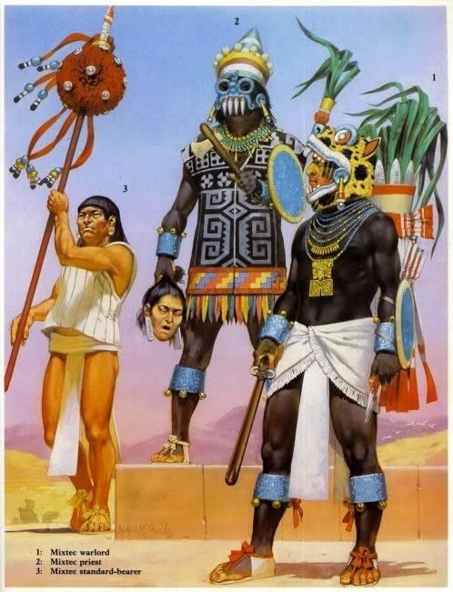 Мексиканские воины-орлы и воины-ягуары против испанских конкистадоров. Ацтеки в походе (часть пятая)