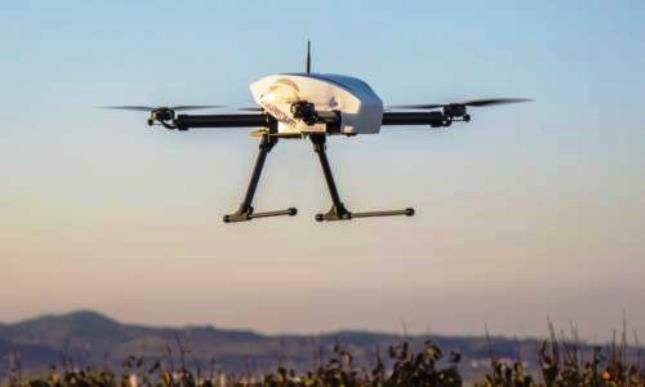 In Russia, ha sviluppato un UAV con una centrale elettrica ibrida