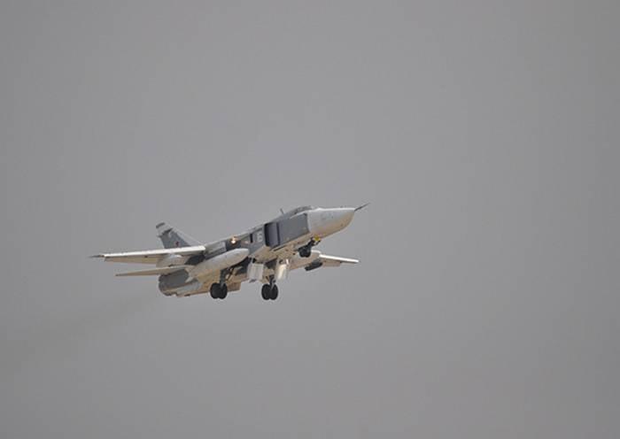 Karadeniz Filosunun Deniz Havacılığı, üç Su-24M uçağı ile yenilendi