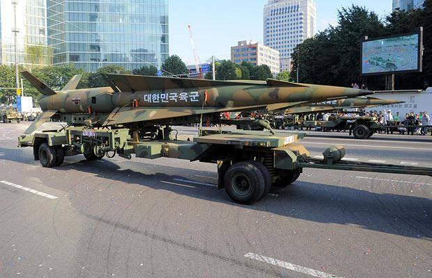 Coréia do Sul planeja levantar restrições ao desenvolvimento de mísseis balísticos