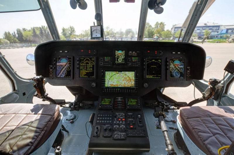 Mi-171A2에서 인증을 통과했습니다.