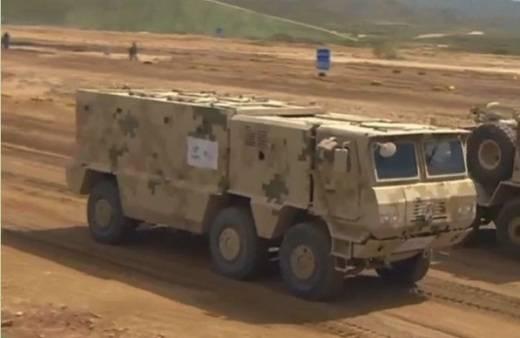 Çin'de, VP22 zırhlı araç sundu