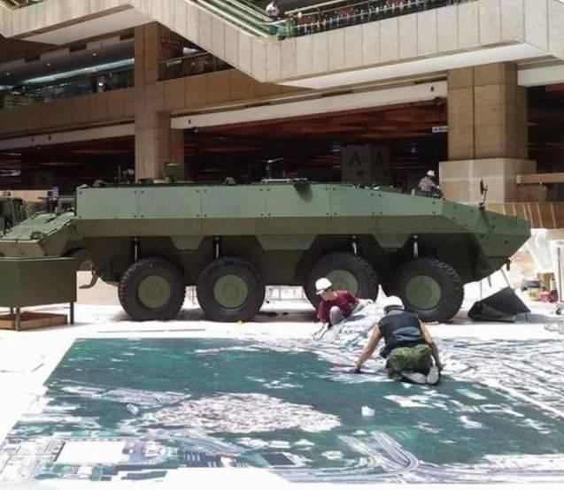 대만에서는 BTR Cloud Leopard II를 대표합니다.