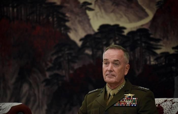 Joseph Dunford: Pentágono desenvolve opções de resposta militar para ameaças na RPDC