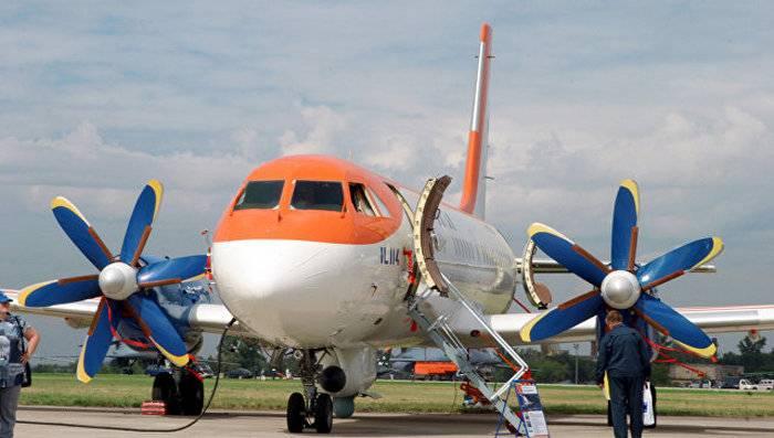 ОАК: Выпуск Ил-114-300 позволит сэкономить $5 млрд