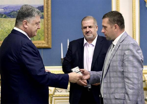 Порошенко назначил нового постпреда вКрыму