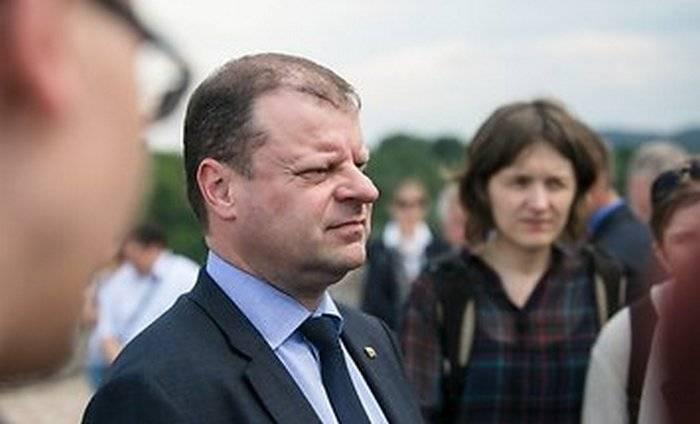 """O primeiro ministro lituano advertiu Minsk sobre o """"perigo"""" de exportar produtos petrolíferos através de Rússia"""