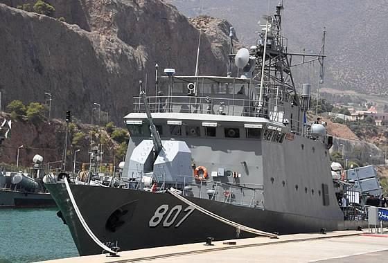 ВМС Алжира получили корвет, построенный на отечественной верфи