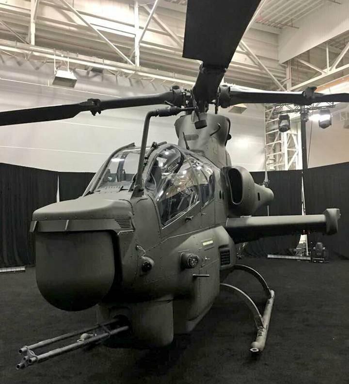 O primeiro helicóptero de combate AH-1Z para o Paquistão