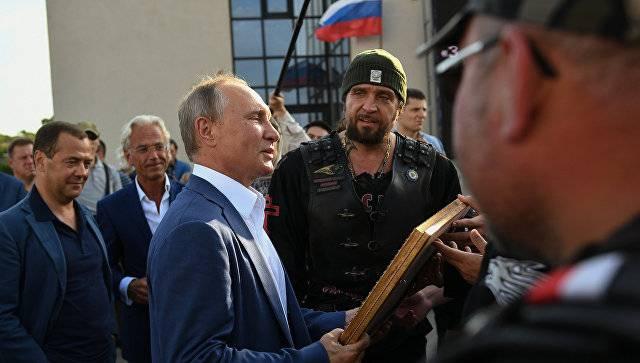 Украина направила ноту протеста в связи с поездкой Путина в Севастополь