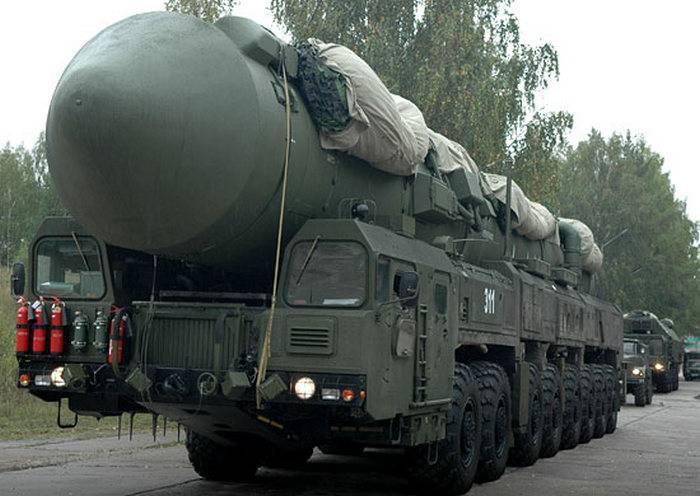 Одиннадцать ракетных полков вышли на маршруты боевого патрулирования