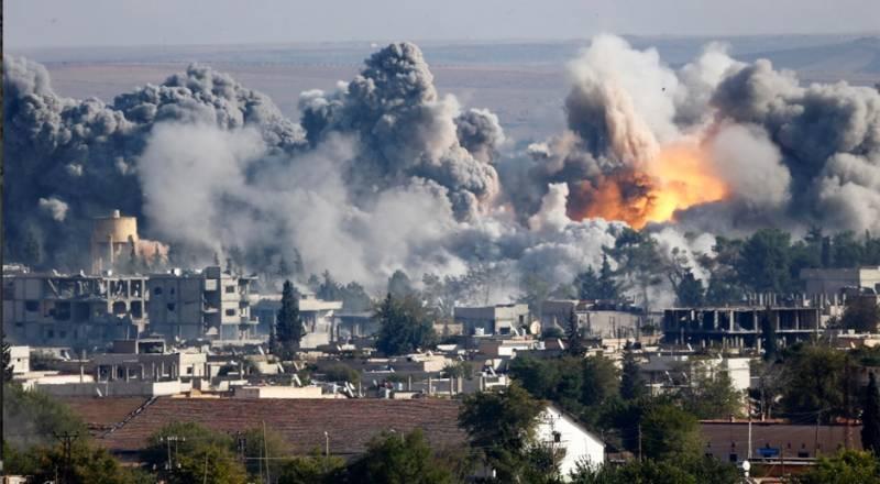 ABD koalisyonu Hasek ve Rakka'daki sivilleri 80'e katletti