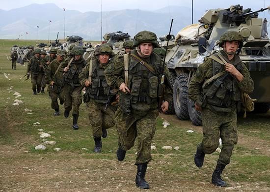 Nas Forças Armadas lançaram exercícios para o fornecimento abrangente de tropas