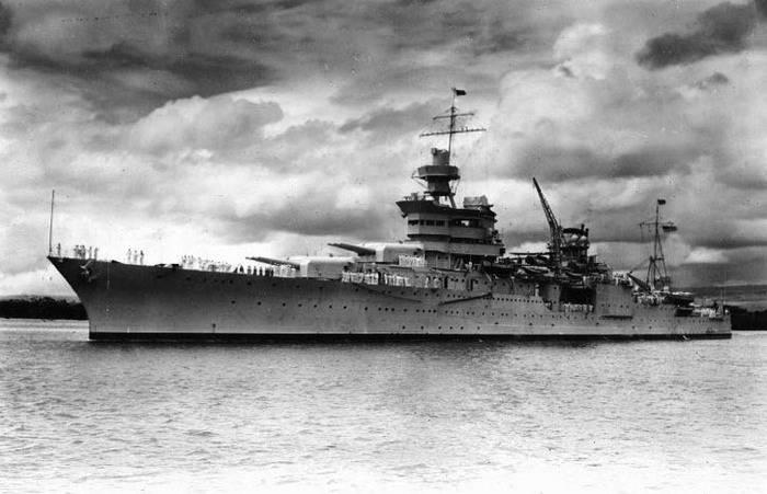Американский крейсер Indianapolis, погибший в 1945 году, найден спустя 72 года