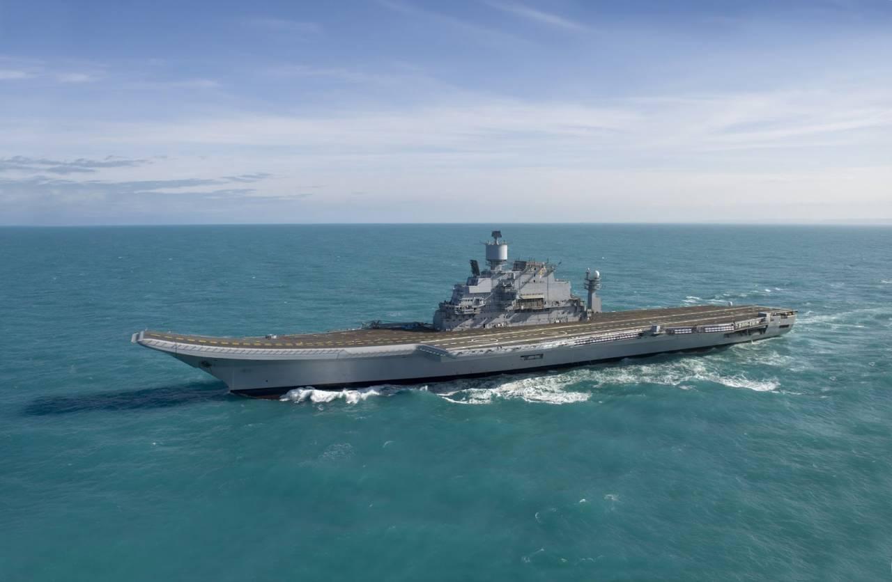 indias second aircraft carrier - HD4204×2748