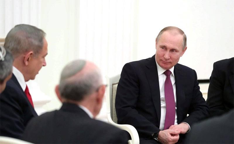 ВСочи состоится встреча Владимира Путина иНетаньяху