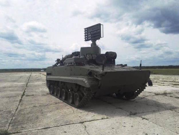На «Армии-2017» представили модернизированный модуль разведки и управления