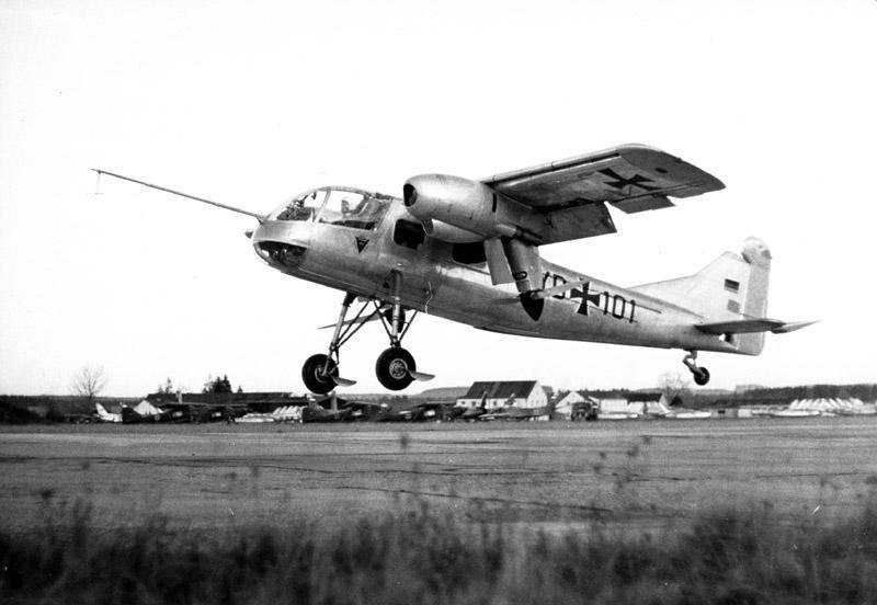 Экспериментальный самолёт укороченного взлета и посадки Dornier Do 29