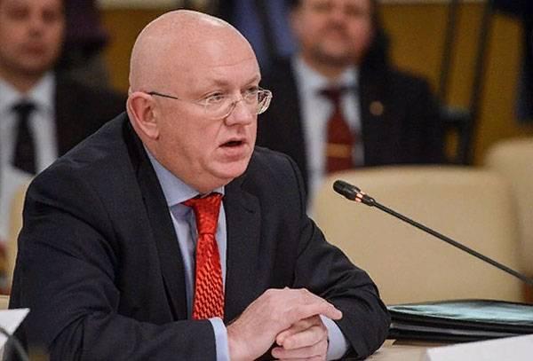 """Nebenzia comentó las declaraciones de Chisinau sobre la """"necesidad de retiro"""" de los pacificadores rusos."""