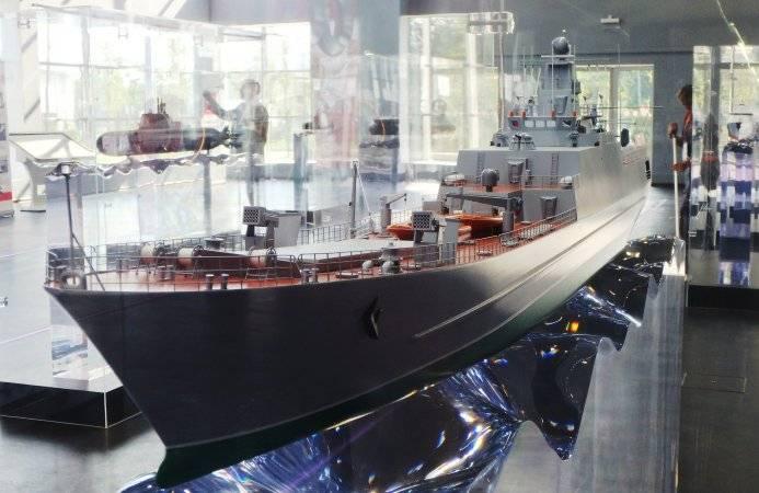 Северное ПКБ впервые представило экспортный вариант среднего десантного корабля проекта 21810