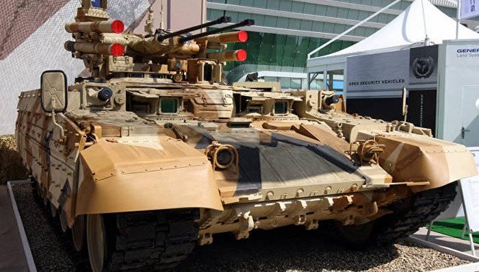 Кадры яркого танкового боя на«Армии-2017»— «Терминатор» поддержал огнём