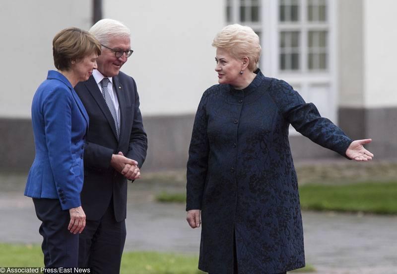 Грибаускайте проследит, выведет ли Россия войска из Белоруссии...