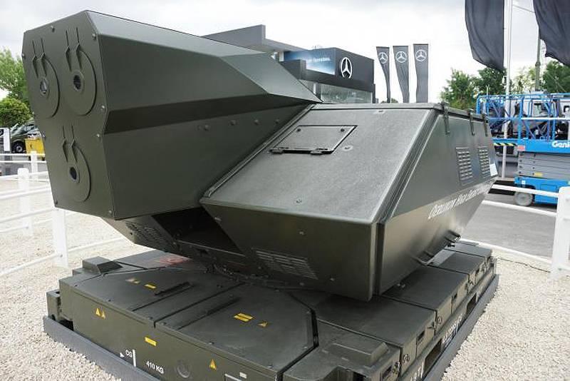 Лазерные пушки становятся реальностью?