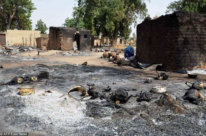 Варварская террористическая атака в Камеруне