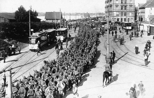 Продовольственный кризис 1917