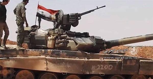 Сирийская армия начала операцию на западных границах провинции Дейр-эз-Зор