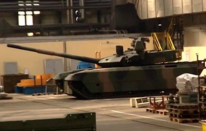 Польша представит очередной проект модернизации Т-72