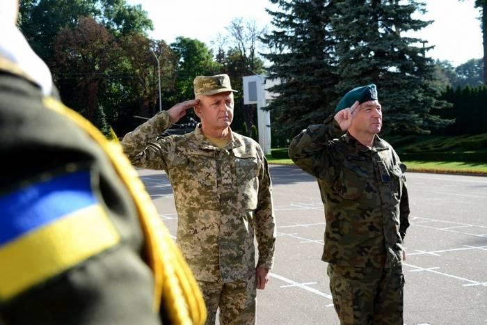 В государство Украину прибыла делегация Вооруженных сил Польши