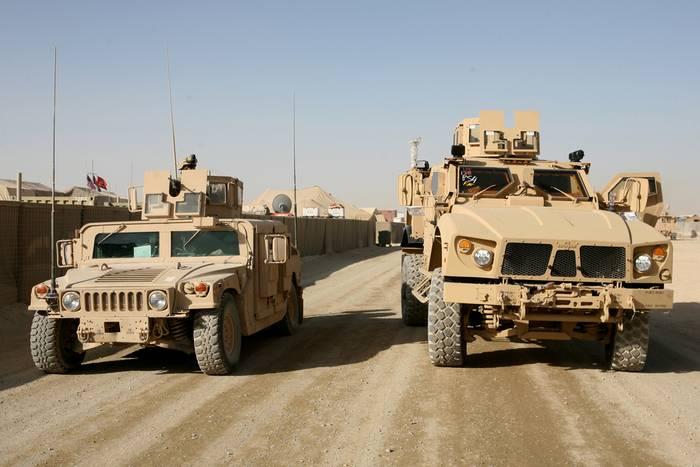 Минобороны США заказало производство Humvee на сумму $2,2 млрд.