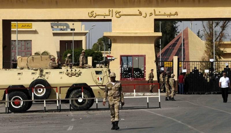 Теракт на КПП Рафах